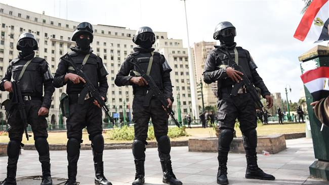Members of the Egyptian police special forces