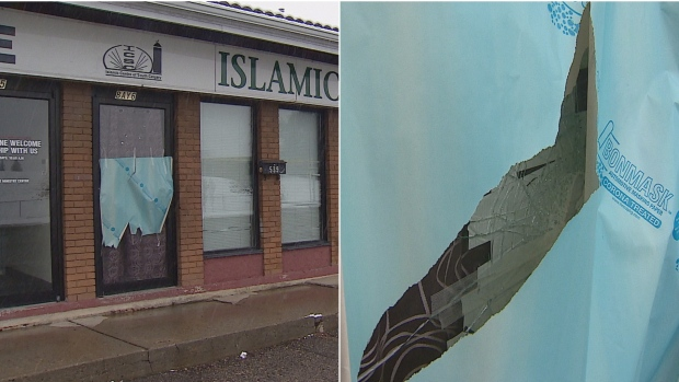 The Islamic Centre of South Calgary in Queensland was vandalized late Friday but a community leader doesn