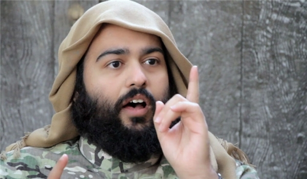 Abdullah Muhammad al-Muhaysini, the commander and Mufti (religious leader) of Tahrir al-Sham Hay