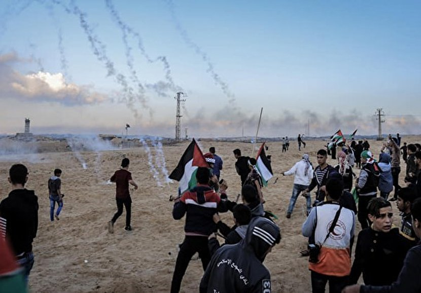 Israeli Gunfire Injures Fourteen ​Palestinians at Maritime Protests in Gaza​
