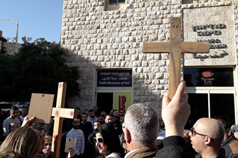 'McJesus' sculpture outrages Christian Arabs in Palestine