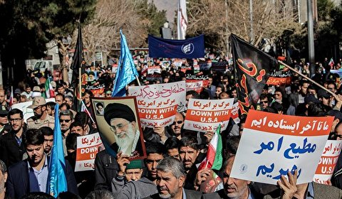 Iranians rally to display support for government against riots