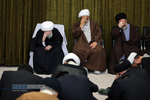 Mourning Ceremony for Martyrdom Anniversary of Imam Hadi, Shiites' 10th Imam, were held in houses of Sources of Emulation's