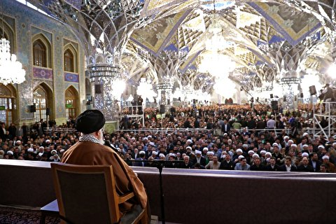 Ayatollah Khamenei delivers speech on the first day of 1398 Persian New Year
