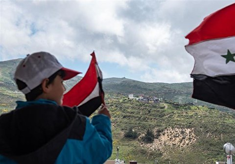Druze Residents Attend Rally to Mark Syria's Independence Day