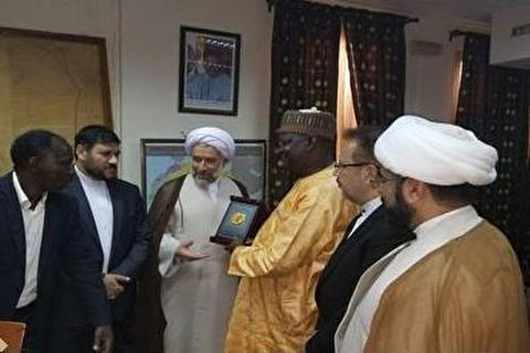 The president of al-Mustafa University visited Conakry Guinea