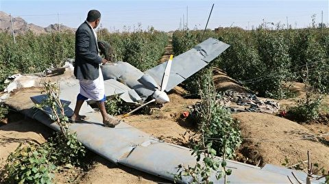 Yemeni forces, allies shoot down Saudi-led reconnaissance drone in Hajjah
