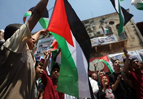 Palestinians Rally Throughout West Bank in Protest Against Bahrain Workshop