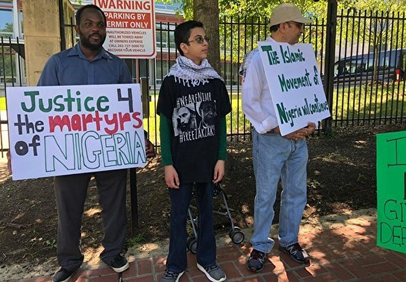 Supporters of Zakzaky Hold Rally in Washington DC