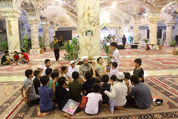 Summer programs are held by the Custodian Organization of Imam Ali (AS) Holy Shrine