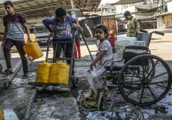 krisis air palestina