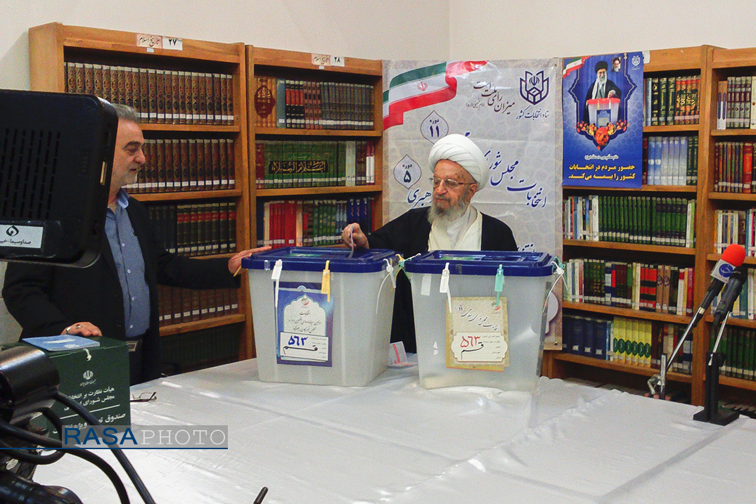Ulama and Islamic scholars participated in elections alongside people