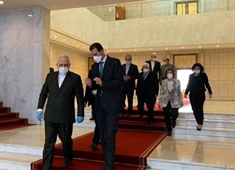 Iranian, Syrian FMs hold meeting in Damascus
