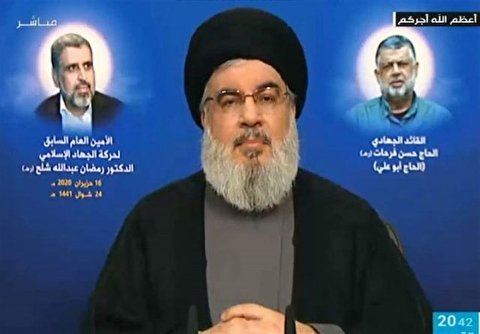 Sayyid Nasrallah highlights failure of US sanctions on Syria